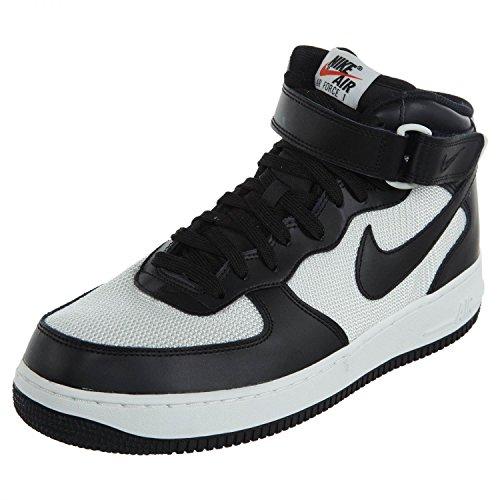 Nike Air Force 1 Mid '07 LE, Scarpe da Basket Uomo, Nero, 42 EU