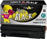 Yellow Yeti CB435A 35A (1.500 Seiten) Premium Toner Kompatibel für HP Laserjet P1005 P1006 P1007 P1008 P1009 [3 Jahre Garantie]