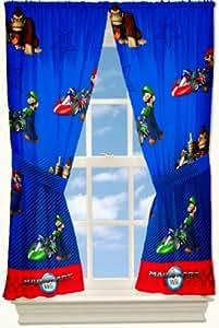 Super Mario Kart Rideaux 104x160cm - Nintendo Deux Panneaux
