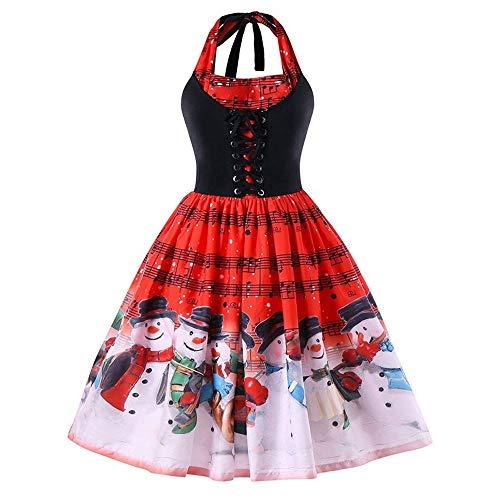 Beladla Vestidos De Fiesta Mujer para Bodas De Noche Navidad Arcoiris ImpresióN Largo Tutu Falda Vestido De Coctel Evening Prom Party
