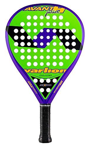 Varlion Avant H Junior - Pala de pádel, Unisex Niños, Verde/Morado, 300-305 g