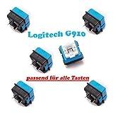 6x ROMER-G switch für Logitech G910, G810 & G410 Gaming-Tastatur, Ersatz-Schalter, Taster