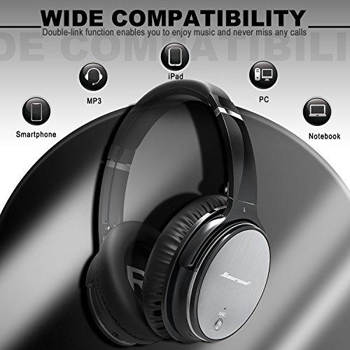 ... Qualità Cuffie Bluetooth Wireless Riduzione del Rumore - Portatile  Universali Headphones e Cancellazione del Rumore 27174e3626ca