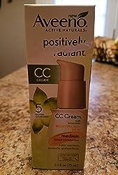 Aveeno Positively Radiant Cc Cream Broad Spectrum SPF 30 Medium, 2. 5 oz
