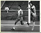 Vintage Photos 1984 Press Photo Brownsville Hanna et Lanier Diffuse Boys High School Soccer