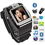 Flylink® Watch Mobile Cell Phone DVR Hidden Camera MP3 Wrist Quad 4 Band,Newest