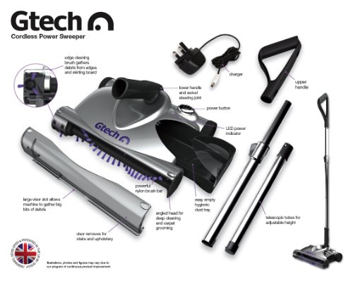 51%2BOOVsEH1L - Gtech SW02 Advanced Power Sweeper