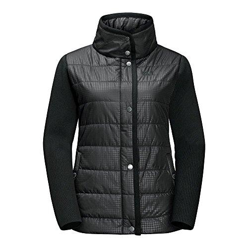 Jack Wolfskin Clarington Jacket Women Black All Over Größe S 2017 Funktionsjacke