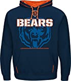 NFL Hooded Sweater/Hoody/Hoodie CHICAGO BEARS - SEAM PASS in S (SMALL)