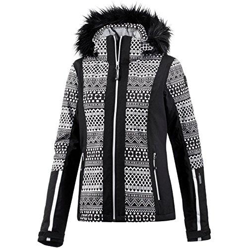 Icepeak - Nancy noir jacket l - Blouson de ski - Noir - Taille 38
