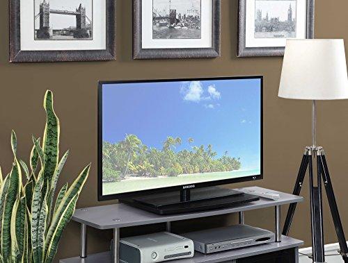 Convenience Concepts designs2go Einstöckiger TV drehbar Board für Flat Panel TV 'S bis zu 20oder 60-pounds, schwarz - 60 Flat-panel-tv-ständer