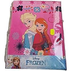 sfiziosa Frozen Sisters completo sábanas 3pz cama individual sábanas Encimera + Bajera con + Almohada 100% algodón
