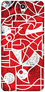 The Racoon Lean Red & White hard plastic printed back case / cover for Lenovo Vibe S1