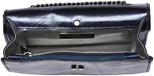 Chicca Borse 1622, Borsa a Spalla Donna, 22x16x6 cm (W x H x L) Blu (Blue)