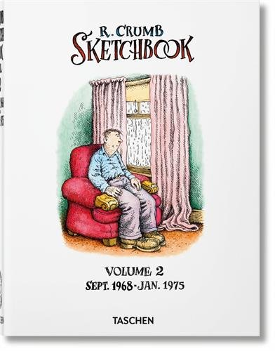 Robert Crumb. Sketchbook: Sketchbook. Sept. 1968 - Jan. 1975 - Volume 2 (Varia) por Vv.Aa