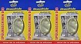 3 (drei) Stück Geschirrspüler Duftstein Zitronenduft # Spülmaschinen Deo Zitronenfrische, für bis zu 150 x Duft + Frische, beseitigt unangenehmen Spülgeruch in Ihrer Geschirrspülmaschine, für bis zu 150 Spülgänge im Normalprogramm