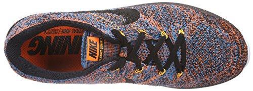 Nike Flyknit Lunar3, Chaussures de running entrainement homme Orange - orange