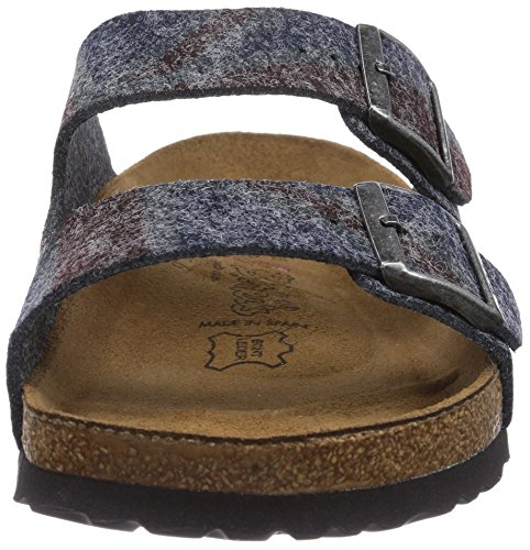 Birki's Arizona, Mules Mixte Adulte gris (Gray Print Stars and Stripes)