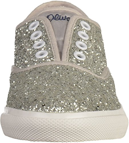 oliver 54109 Sneakers Silber Mädchen 28 S 5 UvPqwqR