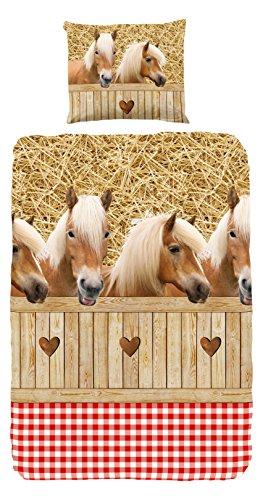 good-morning-singolo-100-cotone-cavalli-bambini-copripiumino-sabbia