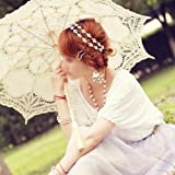 SODIAL(R) Frauen Elegante Blume elastisches Haar Band Stirnband Silber - 7