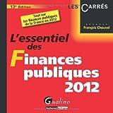 L'essentiel des Finances publiques 2012