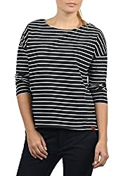 Das Sweatshirt der Marke DESIRES ist ein klassischer Sweater in gestreifter Optik. Das Basic ist dank seiner angenehmen Baumwolle und dem lässig lockeren U-Boot Ausschnitt ein stilsicherer Begleiter für jegliche Anlässe, der vielfältige Kombinatio...