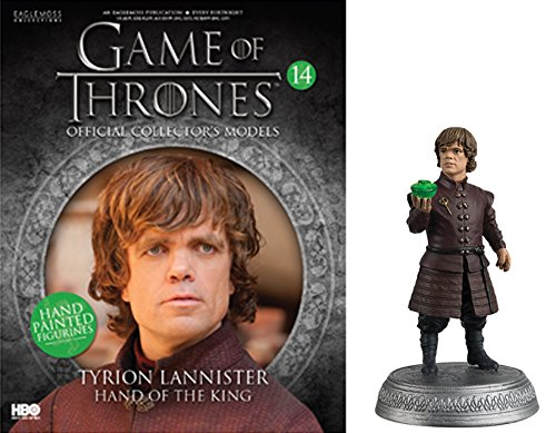 HBO - Figura de Resina Juego de Tronos. Game of Thrones Collection nº 14 Tyrion Lannister