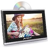Pumpkin Lecteur DVD Voiture 10,1 Pouce Ecran d'appui tête Slot in Design Vidéo 1080P avec Câble Aux Supporte Région Libre AV in AV Out HDMI Input USB SD