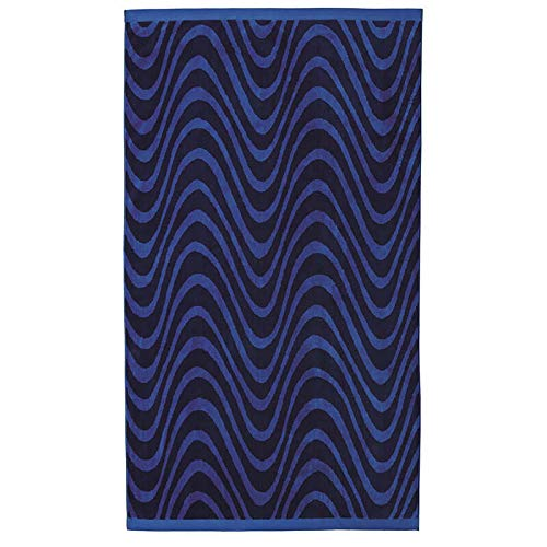 Yves Delorme Plongeon Beach Towel, Navy