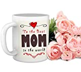 Tied Ribbons Best Mom Coffee Mug and Bun...