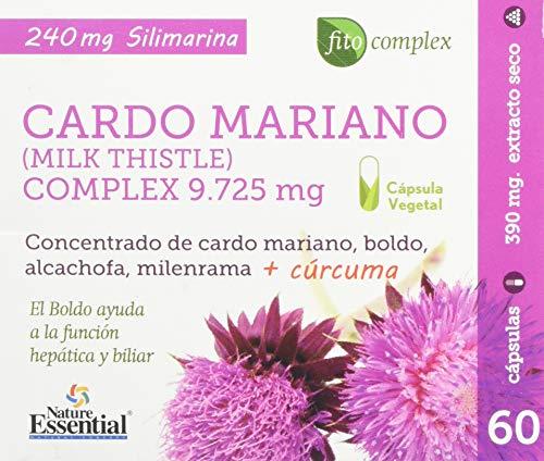 Cardo mariano complex 9.725 mg 60 cápsulas boldo
