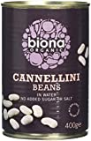 Biona Organic Cannellini Beans 400 g (Pack of 12)