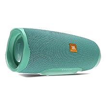 JBL Charge 4 Speaker Bluetooth Portatile, Cassa Altoparlante Waterproof IPX7, con Microfono, Porta USB, JBL Connect+ e Bass Radiator, fino a 20 h di Autonomia, Turchese