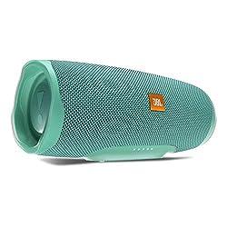JBL Charge 4 Bluetooth-Lautsprecher - Wasserfeste, portable Boombox mit integrierter Powerbank - Mit nur einer Akku-Ladung bis zu 20 Stunden kabellos Musik streamen Petrol
