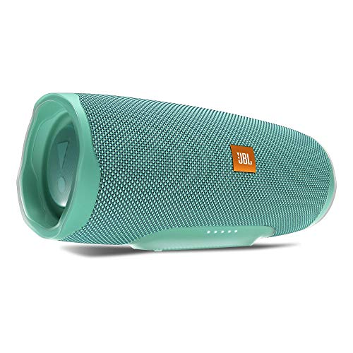 JBL Charge 4 Bluetooth-Lautsprecher in Petrol (Wasserfeste, portable Boombox mit integrierter Powerbank - Mit nur einer Akku-Ladung bis zu 20 Stunden kabellos Musik streamen) (Wireless Sound Bar Jbl)