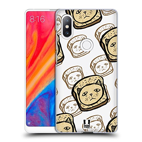 Head Case Designs Hackbraten Komische Köpfe Harte Rueckseiten Huelle kompatibel mit Xiaomi Mi Mix 2S