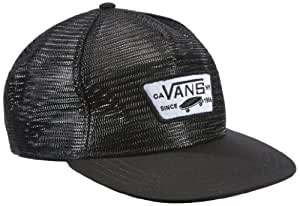 Vans Herren Kappe Thurloe Snapback, Black, One size, VWCNBLK