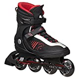 K2 Sports Europe Inlineskates Kinetic 80 M Herren black-red (30A0720), 48, schwarz