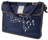 TGI TGMC2N Grande Pochette à musique - Bleu Marine