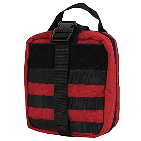 CONDOR MA41-010 Rip-Away EMT Pouch Red