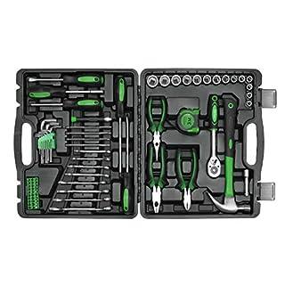 Werkzeugkoffer Werkzeugsatz 78 tlg Werkzeug Werkstattkoffer