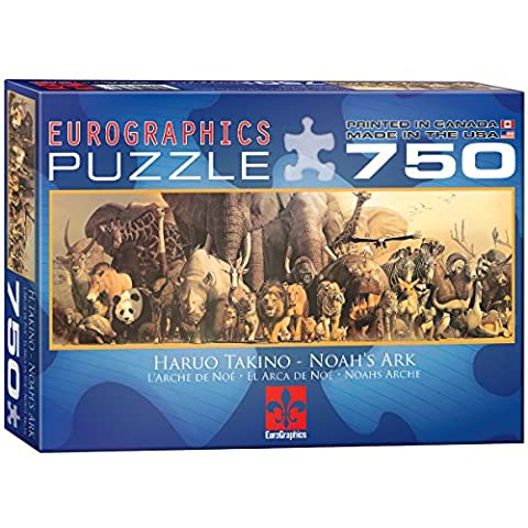 Eurographics Noah's Ark by Haruo Takino Puzzle (750 Pieces)