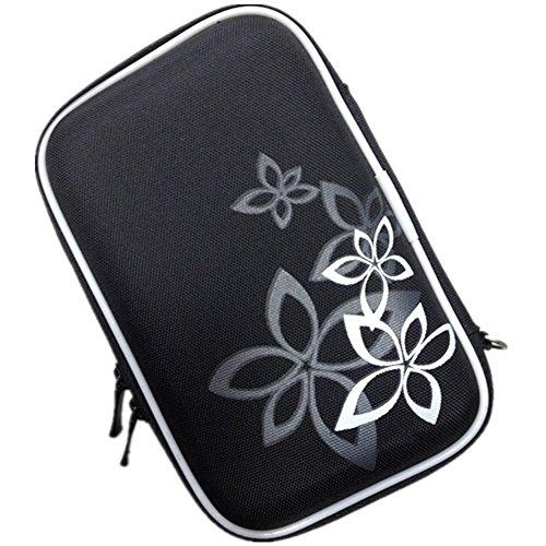 Utile Organizer Per Cavi Hard Disk Chiavette USB, Custodia Da Viaggio Porta Accessori Elettronici, Borsa Impermeabile Tasche Fascette Elastiche Nero