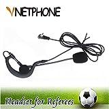 VNETPHONE  Soccer Arbitre Casque 3,5 mm Oreille Mono écouteur Fonctionne avec V6 V4...