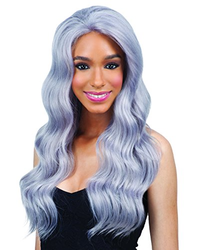 FreeTress Equal Lace Front Wig - CHROME (SILVER) by Freetress