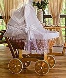 Comfort Baby Home XXL Baby Berceau avec moustiquaire–Ensemble complet–EN166'Tout inclus' & sûr