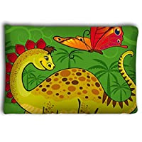 Mizongxia Pillow cases baby dinosaur big butterfly forest 20 * 30inch