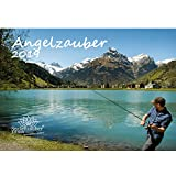 Angelzauber · DIN A4 · Premium Kalender 2019 · Sport · Unterwasser · fischen · Köder · angeln · Angel · Fische · Meer · Geschenk-Set mit 1 Grußkarte und 1 Weihnachtskarte · Edition Seelenzauber