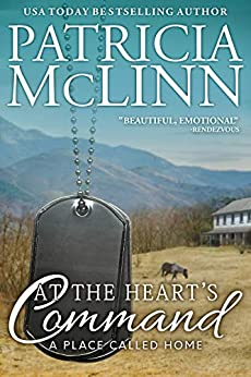 Book cover image for At the Heart's Command, a western romance (A Place Called Home, Book 2)